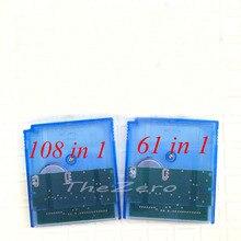 108 IN1 61 IN1 Video Game for 16 Bit Cartridge Game Console Card MC007 108in1 MC006 61in1 100% Saving