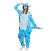 women animal onesie monster sullivan kigurumis sully pajama funny suit adult cartoon soft warm overalls jumpsuit fantasias fancy