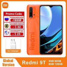 Global Version Xiaomi Redmi 9T 4GB 64GB /128GB 9 T Smartphone Snapdragon 662 48MP Quad Camera 6000mAh 6.53