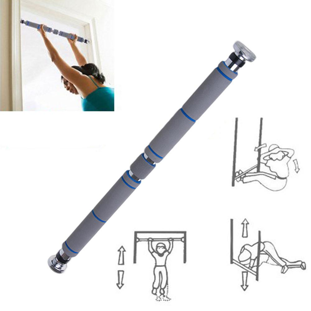 Door Horizontal Steel Adjustable Training Bars For Home Sport Bar Workout Pull Up Arm Training Sit Up Bar Fitness Push Up Equip new sit up exerciser equipment waist training push up bar arm muscle hip squat trainer home sport fitness machine xywj 8404