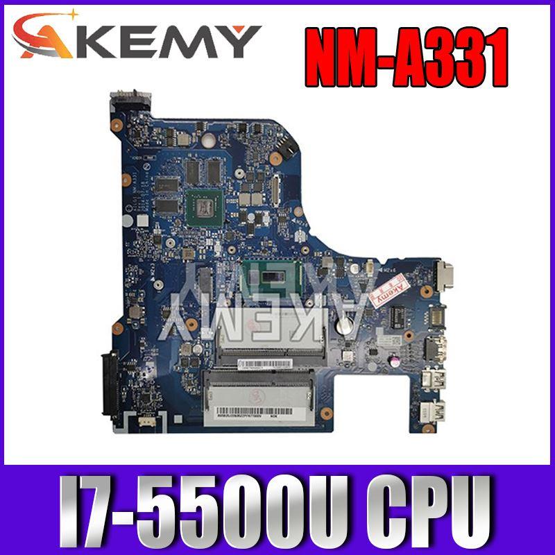 G70-80 لينوفو G70-70 B70-80 Z70-80 I7-5500U اللوحة AILG NM-A331 DDR3L مع 2GB-GPU اختبار 100% الأصلي