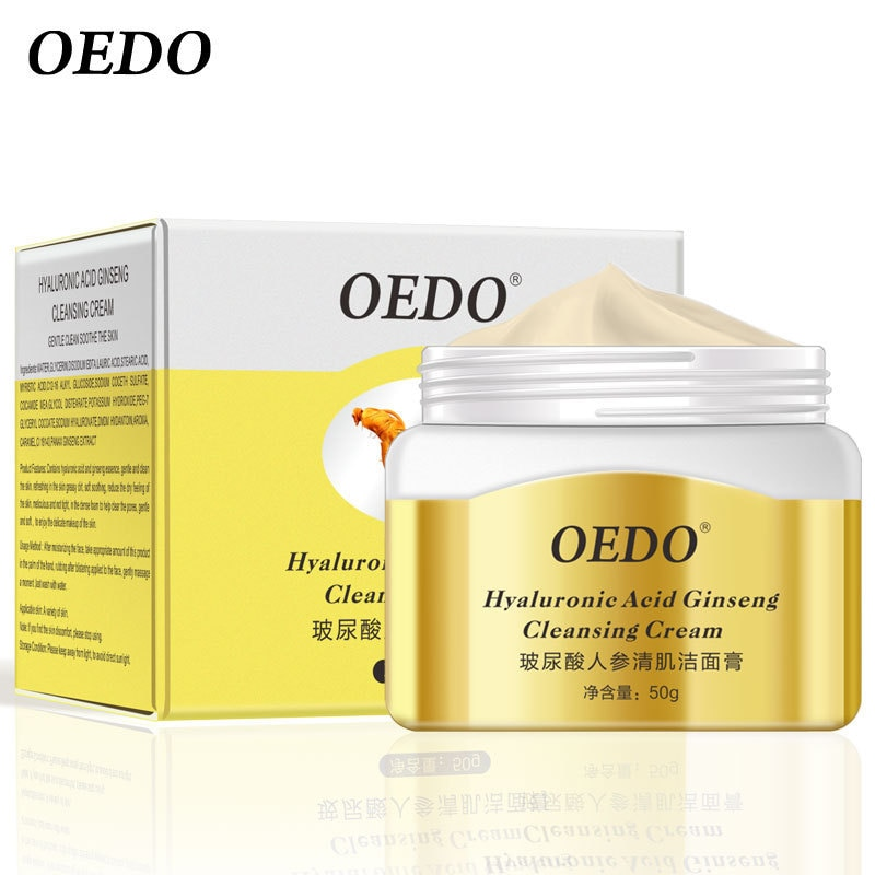 OEDO boric acid ginseng muscle cleansing cream 50g Ginseng Cleansing Cream