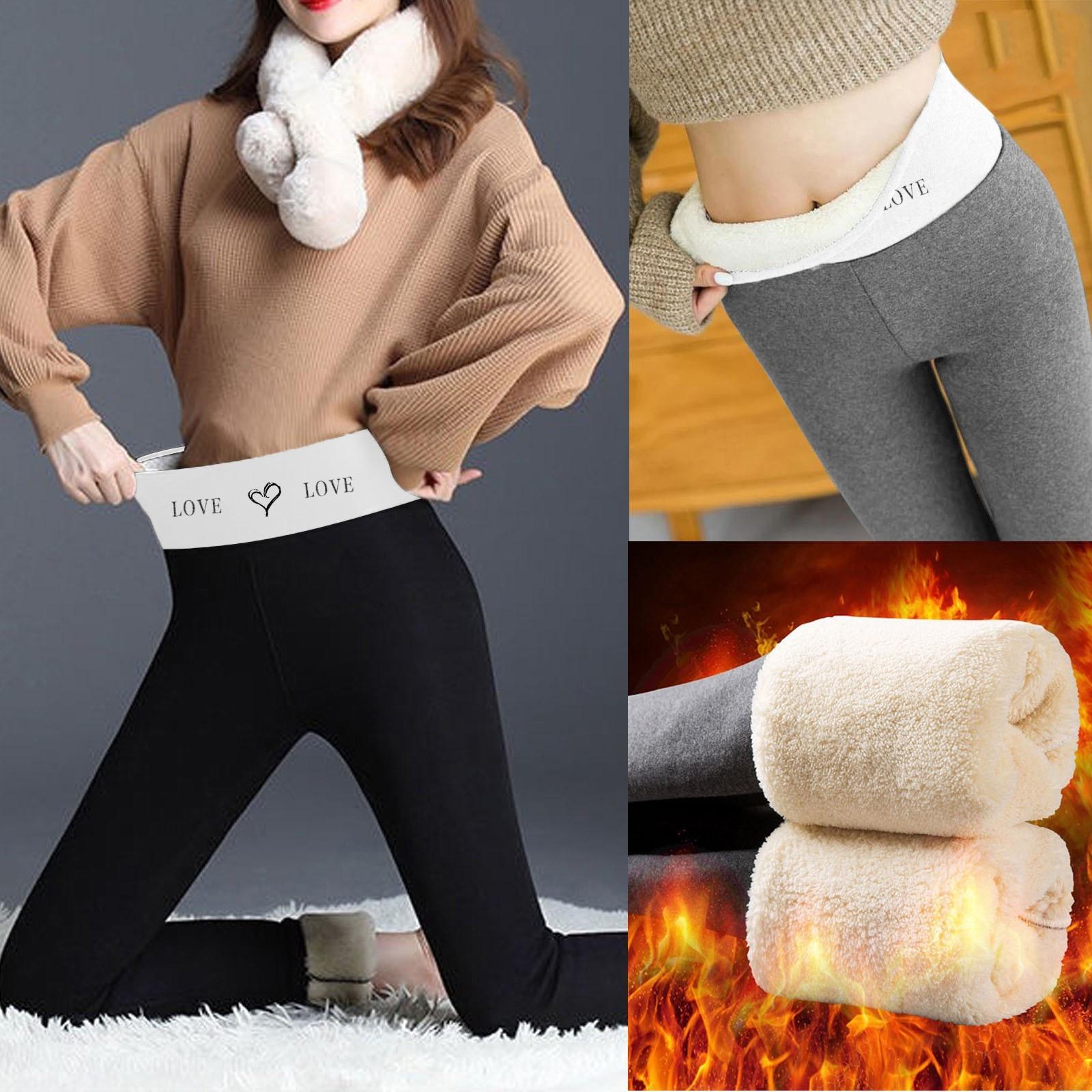 Winter Women Leggings Velvet Warm Pants Hight Waist Long Fashion Legging Comfortable Keep Stretchy