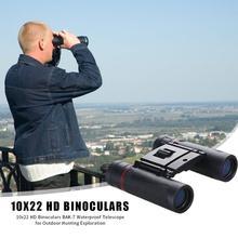 Offre spéciale 10x22 HD jumelles BAK-7 télescope étanche pour voyage en plein air chasse randonnée Camping Exploration fournitures