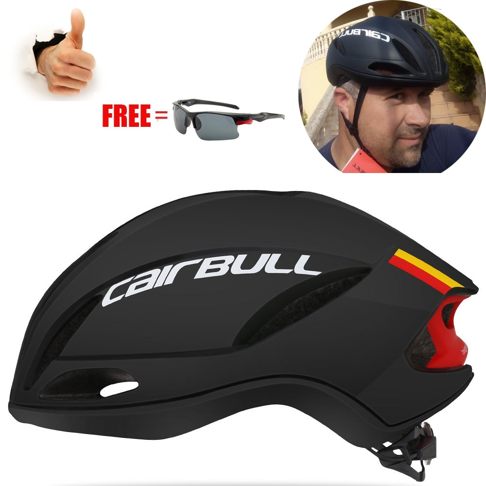 Cairbull SPEED-Casco aerodinámico ultraligero para Ciclismo, de carreras, de velocidad