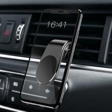 Universele Magnetische Auto Telefoon Houder Stand Voor Iphone 11 Pro Max Samsung Auto Air Vent Magneet Stand In Auto Gps telefoon Mount Houder