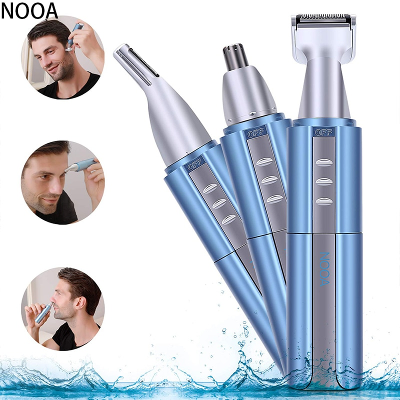 3 in 1 Nose and Ear Trimmer for eyebrow Men USB Electric Machine Nose cut Hair Removal Shaver Hair T