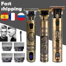 T tagliacapelli tagliacapelli elettrico rasoio Cordless trimmer 0mm uomo barbiere tagliatrice di capelli ricaricabile T9 macchina taglio barba