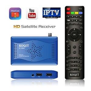 Koqit зеркало Экран литой DVB-S2 приемное устройство IP ТВ декодер DVB S2 T2MI тюнер для спутникового ТВ-приемника спутниковый искатель Wi-Fi CS Biss VU