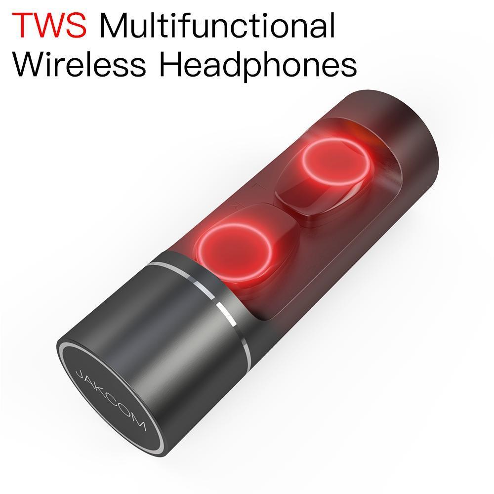 JAKCOM TWS Super inalámbrico auricular mejor que pizza puff barras tipo c power bank condón collar auriculares inteligentes