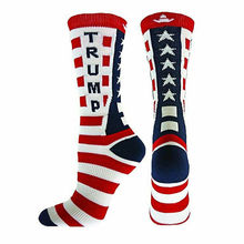 New 2020 Cool Trump America National Flag Star stripes Socks Funny Women's Casual Socks Men Short Socks Happy Cotton Black Socks