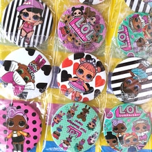LOL surprise lol dolls Badge, вечерние украшения на день рождения, детские маленькие значки с рисунками из аниме, одежда, вечерние платья для мальчиков и девочек