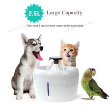 Fontaine à eau automatique pour chat   Pour animaux domestiques, distributeur deau, grand bol à boire, chat automatique, filtre pour boire Apple, capacité de 2,5l