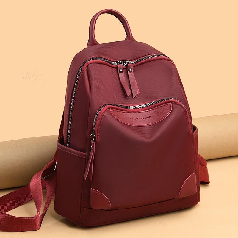 Женский рюкзак, дорожная сумка, женский рюкзак, рюкзак, новый модный рюкзак, нейлоновый тканевый рюкзак, вместительный женский рюкзак, 2021