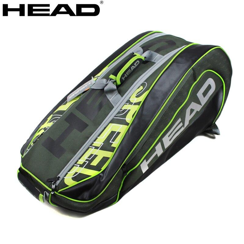 Оригинальный рюкзак для тенниса на голову Александр Зверев Ограниченная серия сумка для тенниса L5 скоростные сумки большой емкости спорти...
