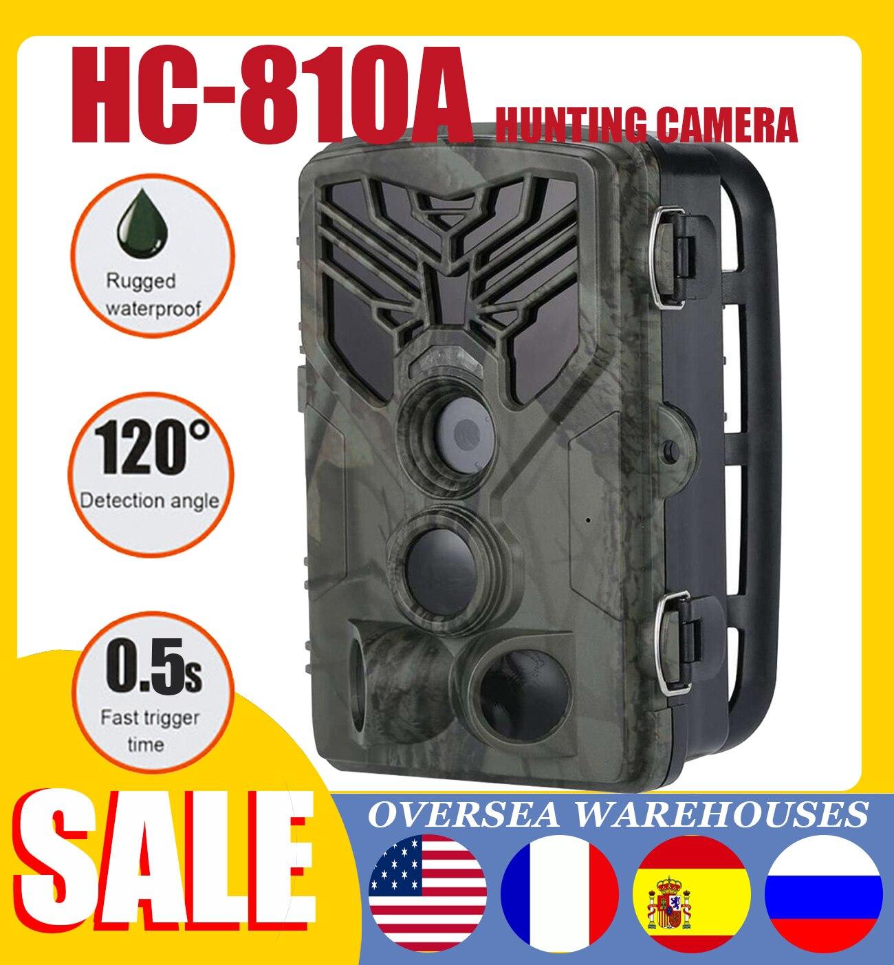 HC-810A Hunting Camera 20MP HD Wildlife Scouting Trail Camera Wildview 3 PIR Motion Night Vision 1080P Camera Home Safe Game Cam недорого