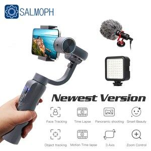 ZWN S5B обновленная версия 3-х осевой ручной шарнирный стабилизатор для камеры GoPro w/фокус Pull & Zoom для iPhone Xs Xr X 8 плюс 7 Samsung Экшн-камера