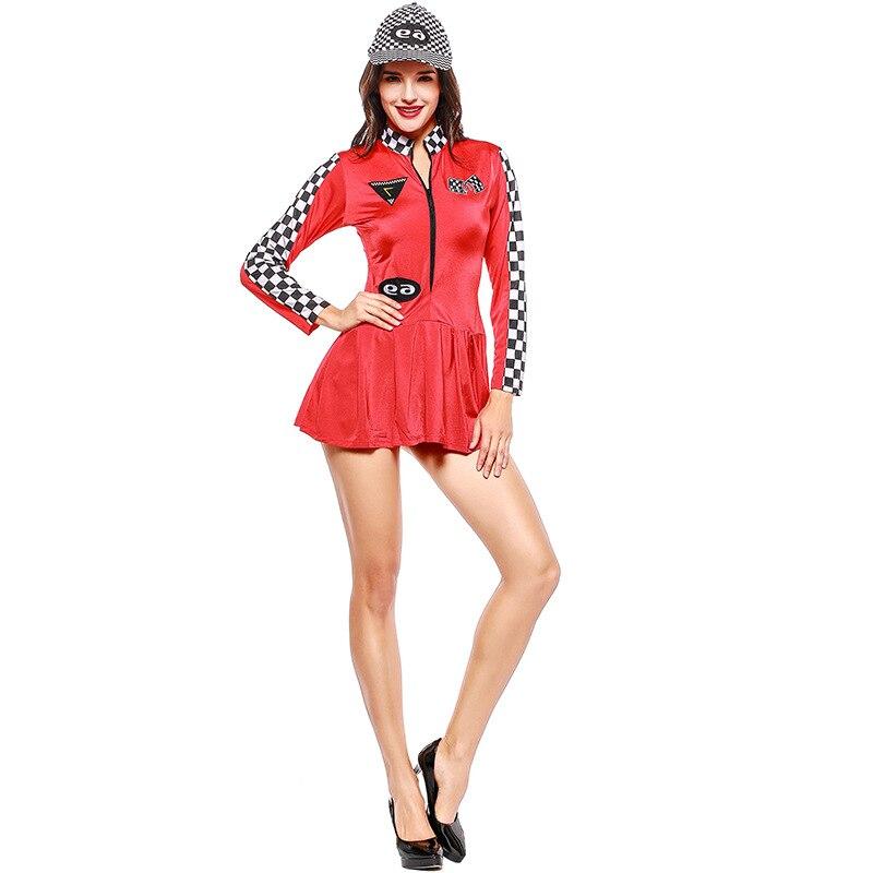 Israel purim  American female athlete Red baseball uniform two colors European and American game uniform cheerleader racing suit
