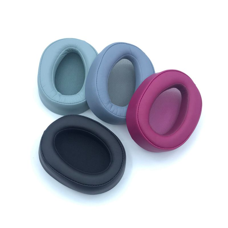 Almofadas de ouvido de couro para sony MDR-100AAP 100a h600a earbud fone de ouvido almofada espuma esponja cobre 634a
