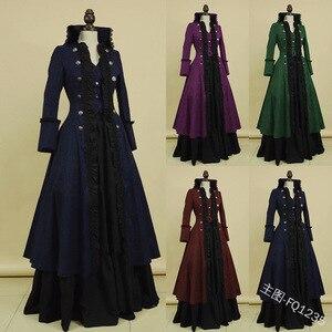 Женское платье средневековой эпохи Возрождения, роскошное платье дворца, принцессы, костюм для косплея, королева, винтажные платья на Хэлло...