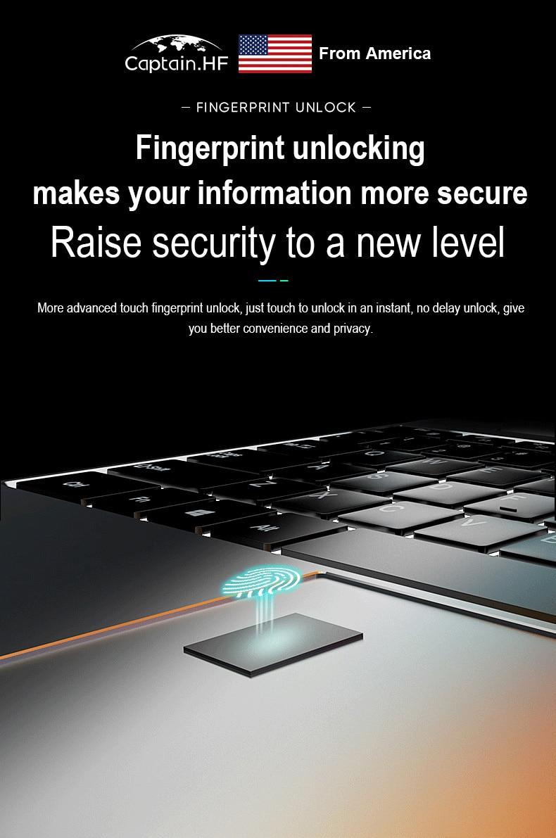 US Captain Core i7  Fingerprint lock True color Restoration Backlit Keyboard Full HD 15.6