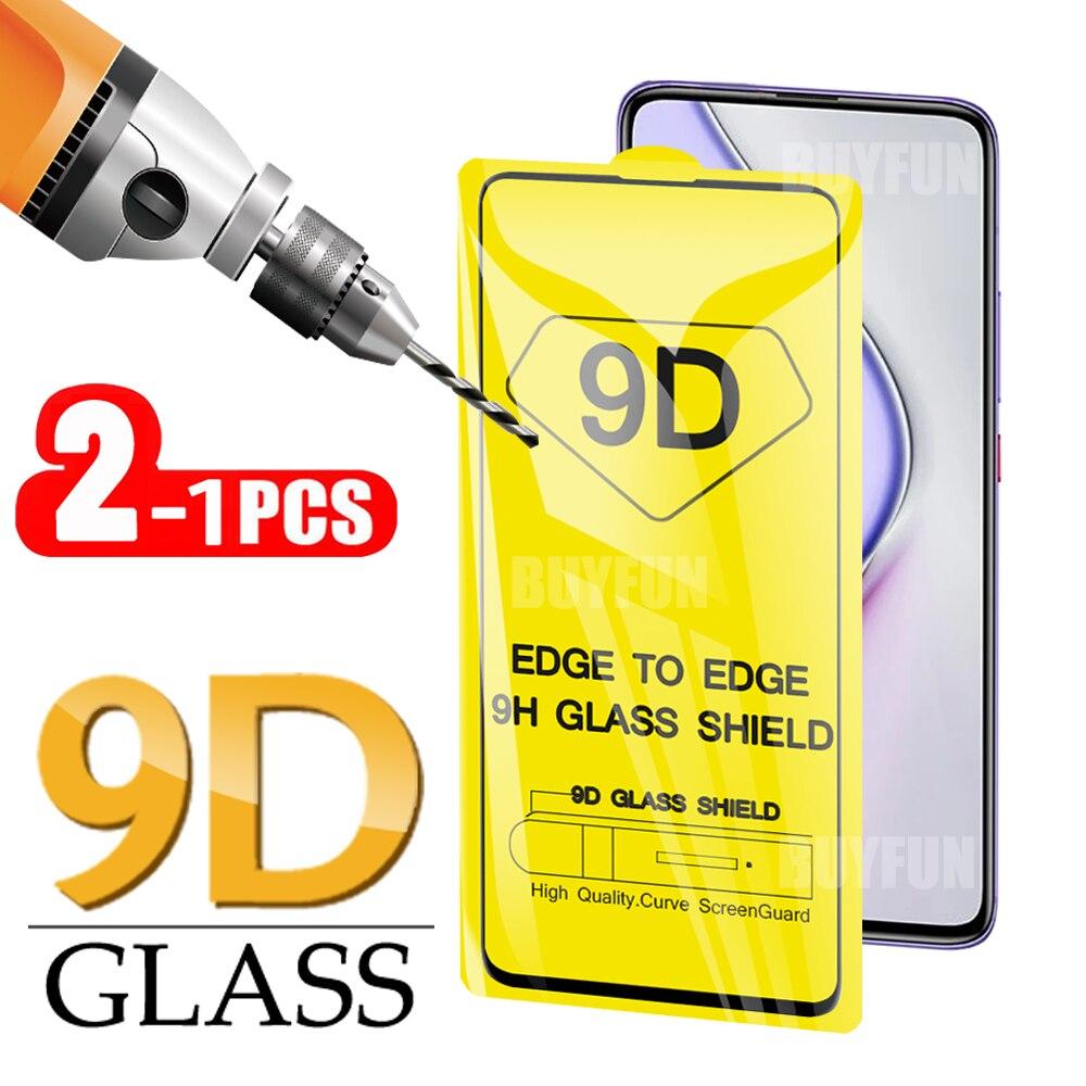 Vidrio Templado 9D para VIVO Y85/V9/V9 Pro/Z1 Y81/Y83, Protector de pantalla de película de vidrio para VIVO V15 Pro, cubierta completa