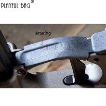 Sac ludique en plein air CS réplique BCM déclencheur garde AR nylon matériel garde pour FTM M416 nylon fendu récepteur Gel balle jouet QE88