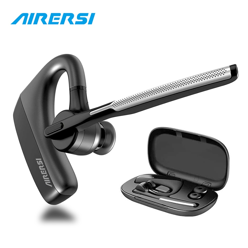 Newest K18 Wireless Earphones Bluetooth 5.0 Earpiece aptX HD Dual Mic Noise Cancelling Headset With Mute Switch For All Phones