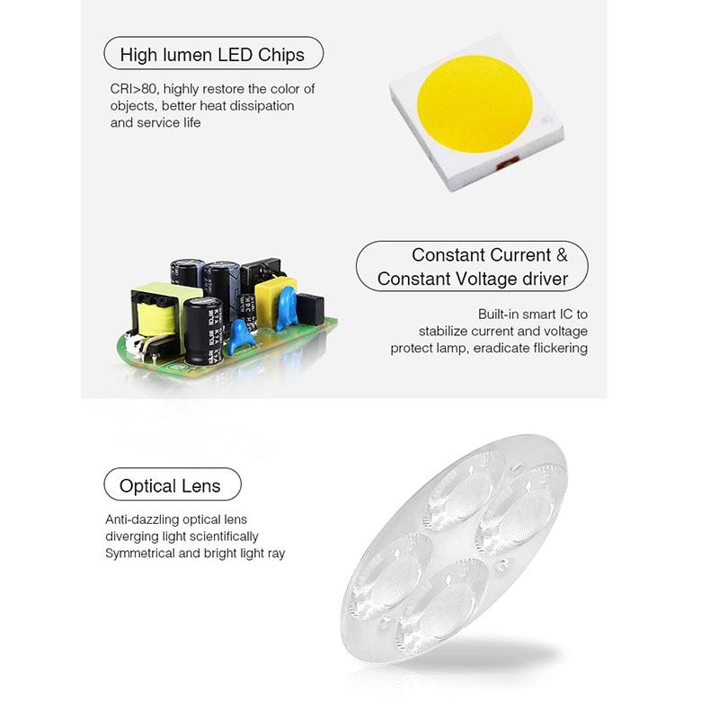 Miboxer FUTC09 18W LED Garden Light RGB+CCT Lawn Light Waterproof IP66 Outdoor Lamp Lighting AC100~240V 50/60Hz enlarge