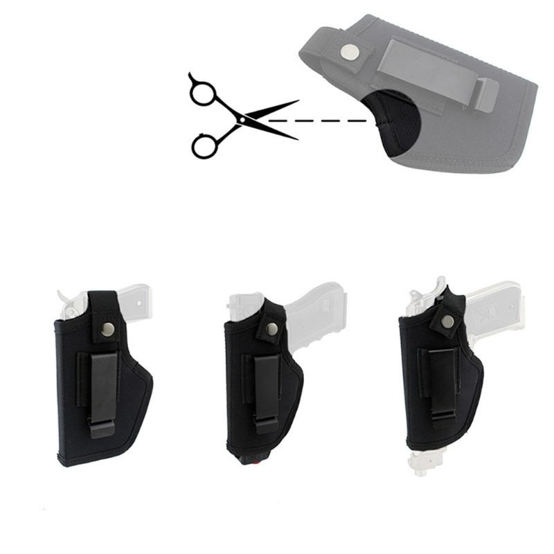 IWB OWB, funda de transporte oculta, Clip de Metal para cinturón, para dibujo de mano derecha e izquierda, bolsa Airsoft para todos los tamaños, pistolas
