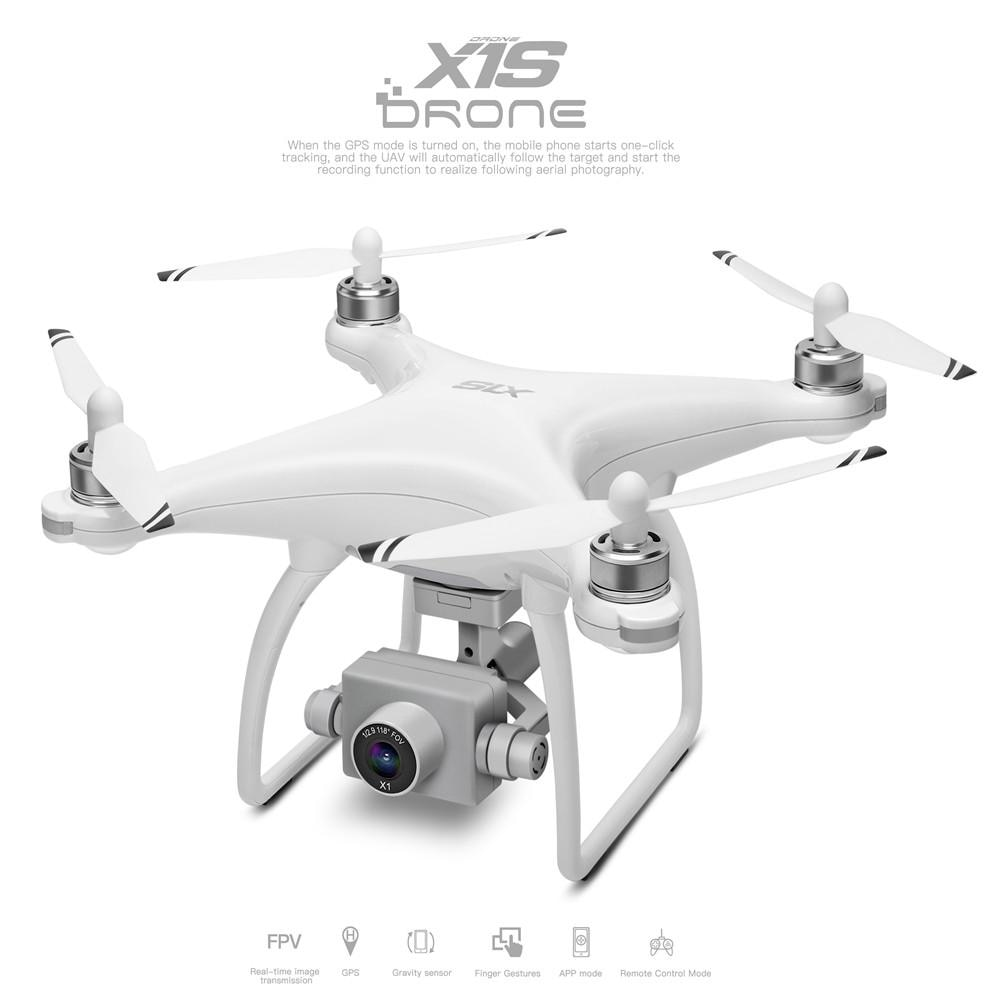 WLtoys XK X1 تحديث Wltoys XK X1S Drone مع 4K HD كاميرا 2-محور الذاتي استقرار Gimbal 5G Wifi FPV GPS Brushsss RC Quadcopter