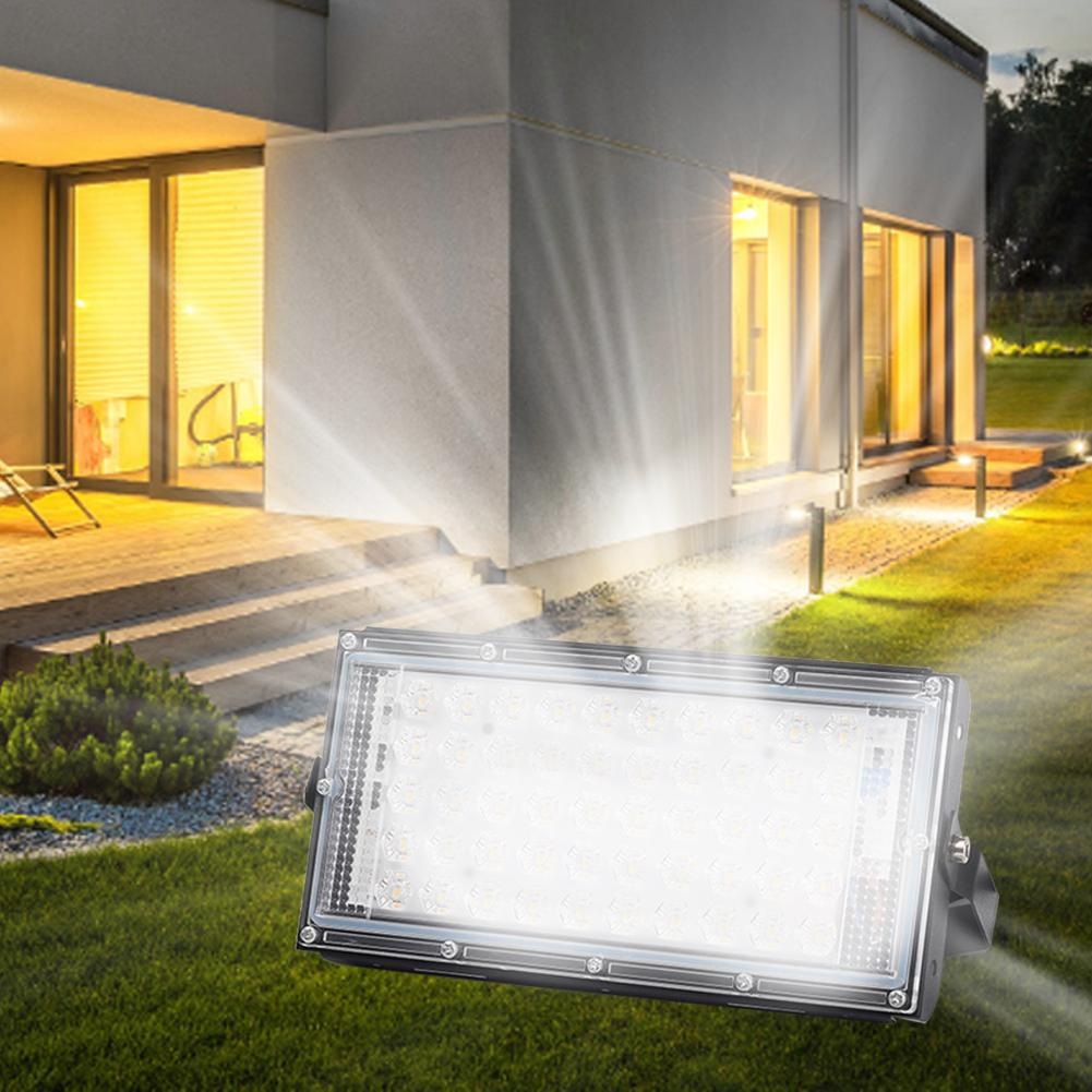 Led Flood Light AC 110V Waterproof IP65 Reflector Led Adjustable Projector FloodLights Street Outdoor Lighting Wall Lamp