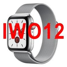 Vwar zegarek 5 IWO 12 PRO Bluetooth inteligentny zegarek 11 SmartWatch 40mm 44mm sprawa dla Apple Android telefon tętno PK IWO 8 13 MAX
