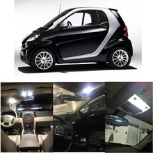 Auto Innen Led Licht Kit Für 2006 Smart Fortwo Licnse platte Lampe fehler freies
