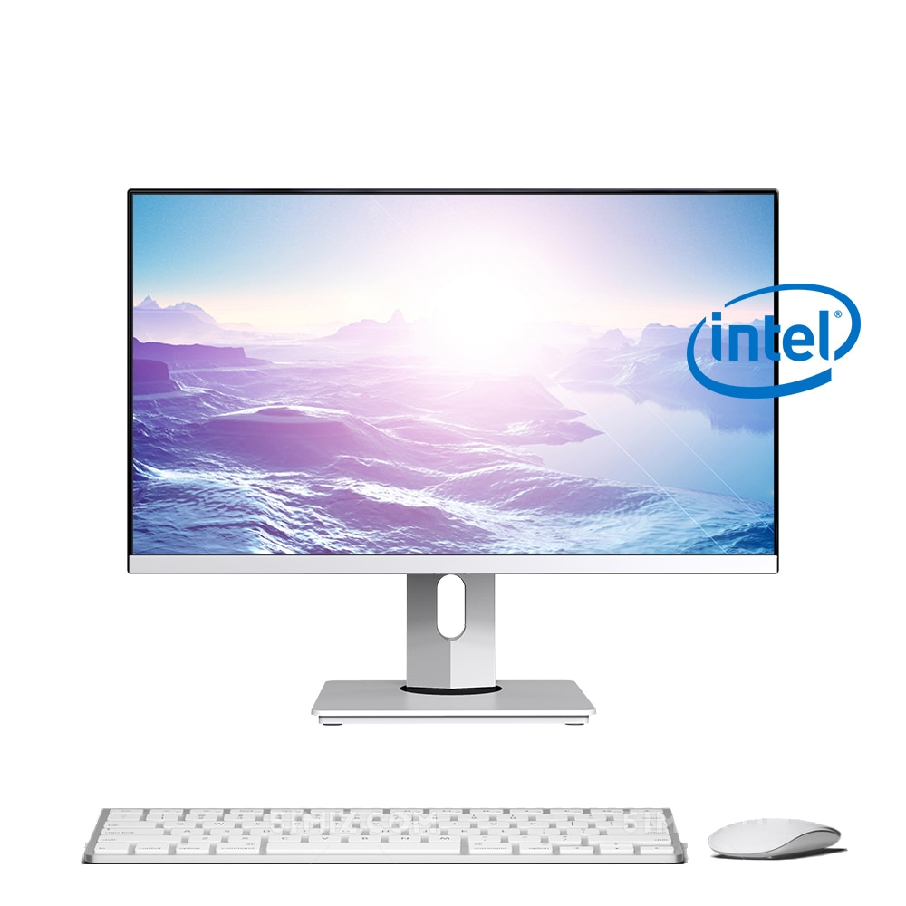 23.8 inch All in one Office Desktop Computer, Intel core i5 4300m Processor, 8G RAM 256G SSD, Install Linux Support Wins 10