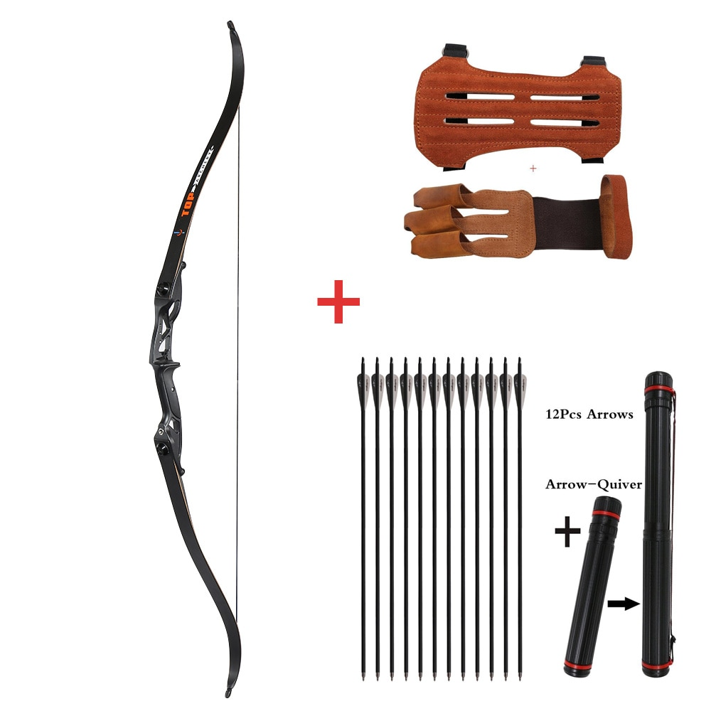 Archery Recurve Bow for Hunting Take-down Bow Outdoor Shooting Sports Bow 30-50lbs