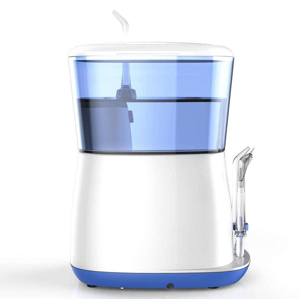 Oral Irrigator Water Flosser Portable Electric Dental waterpik 5 Jet tips 800ML Water Tank Tooth Care Teeth Cleaner Toothbrush enlarge