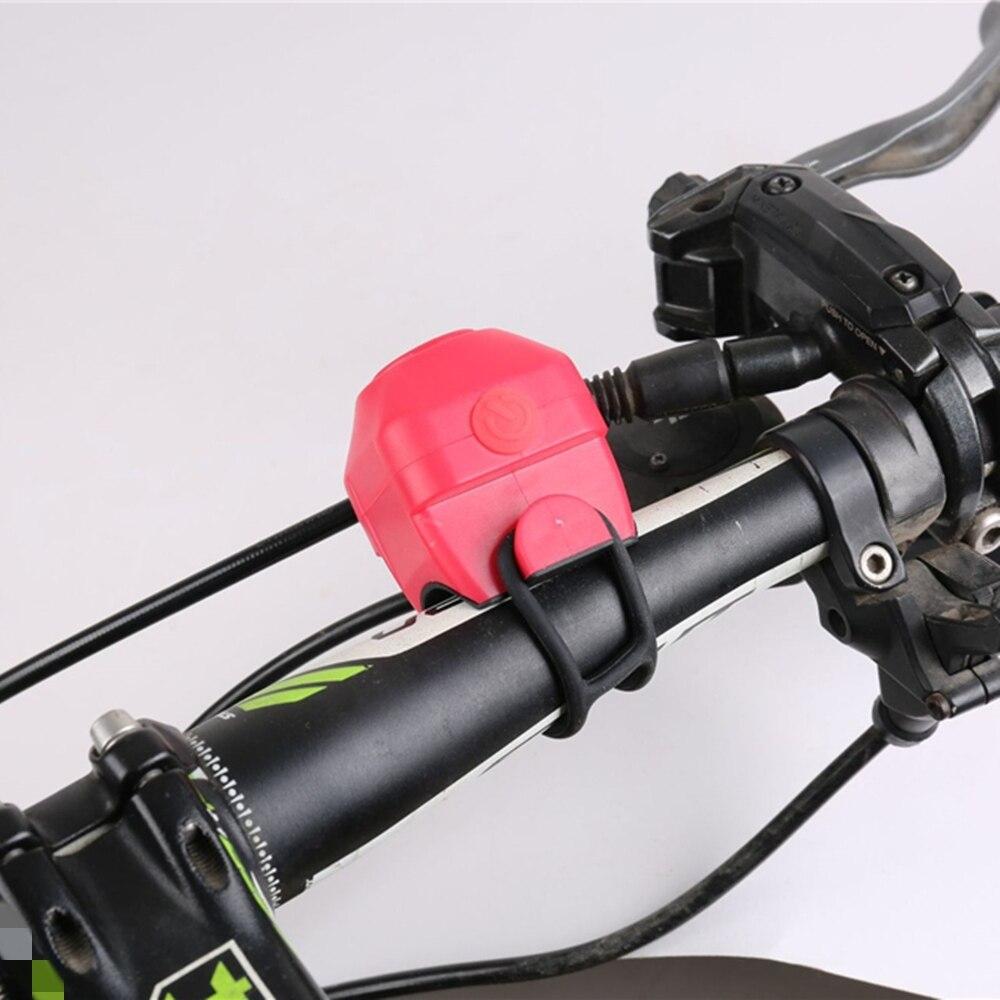 Велосипедный Электронный громкий звуковой сигнал, предупреждающий Электрический звуковой сигнал на руль велосипеда, звуковой сигнал, вело...