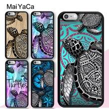 MaiYaCa, carcasa de tortuga marina, colorante colorido para iPhone 11 Pro Max SE 2020 6S 7 8 Plus X XR XS Max 5S, contraportada