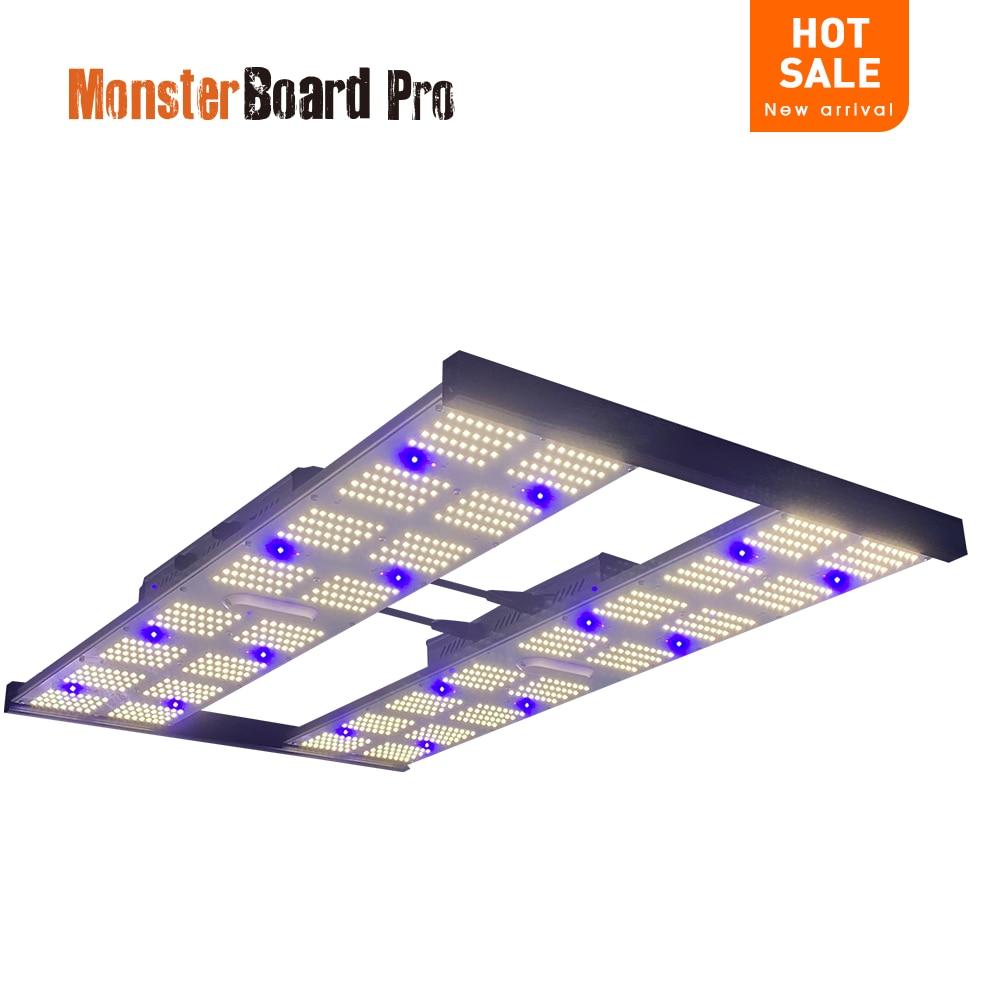 Geeklight أحدث مجلس الوحش برو 4800 480 واط LED تنمو أضواء ل 4x4 Growbox