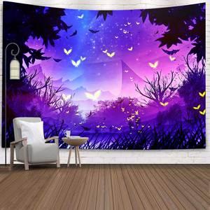 Simsant Yin Yang гобелен бохо мандала космическое звездное небо искусство настенные гобелены для гостиной для дома и общежития Декор