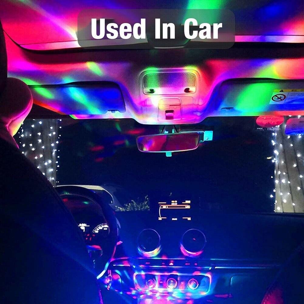 Автомобильный USB-светильник с USB-интерфейсом, 5 В