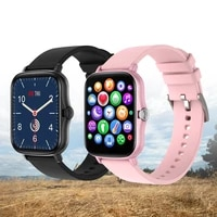 2021 smart watch women full touch blood pressure heart rate tracker message reminder ip67 waterproof smartwatch for xiaomi ios