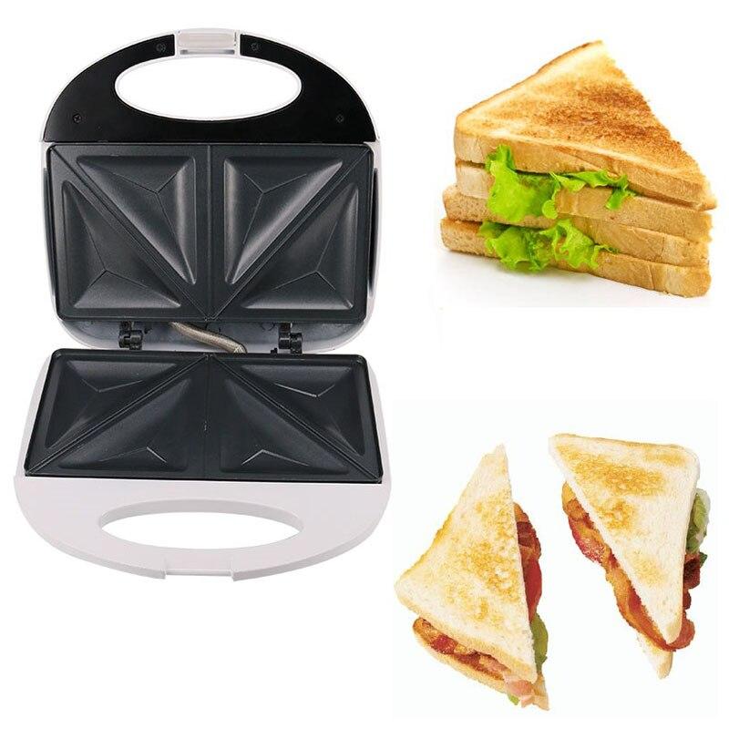 750W sándwich eléctrico waffle del fabricante automático parrilla para tartas rápida máquina de cocina herramienta de cocina para el hogar enchufe del Reino Unido
