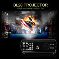 LESHP videoprojecteur 2600 LM Home cinema cinema Support 1080P HD 3D avec ecran LCD TFT 5 0 pouces   HDMI BL20 gratuit