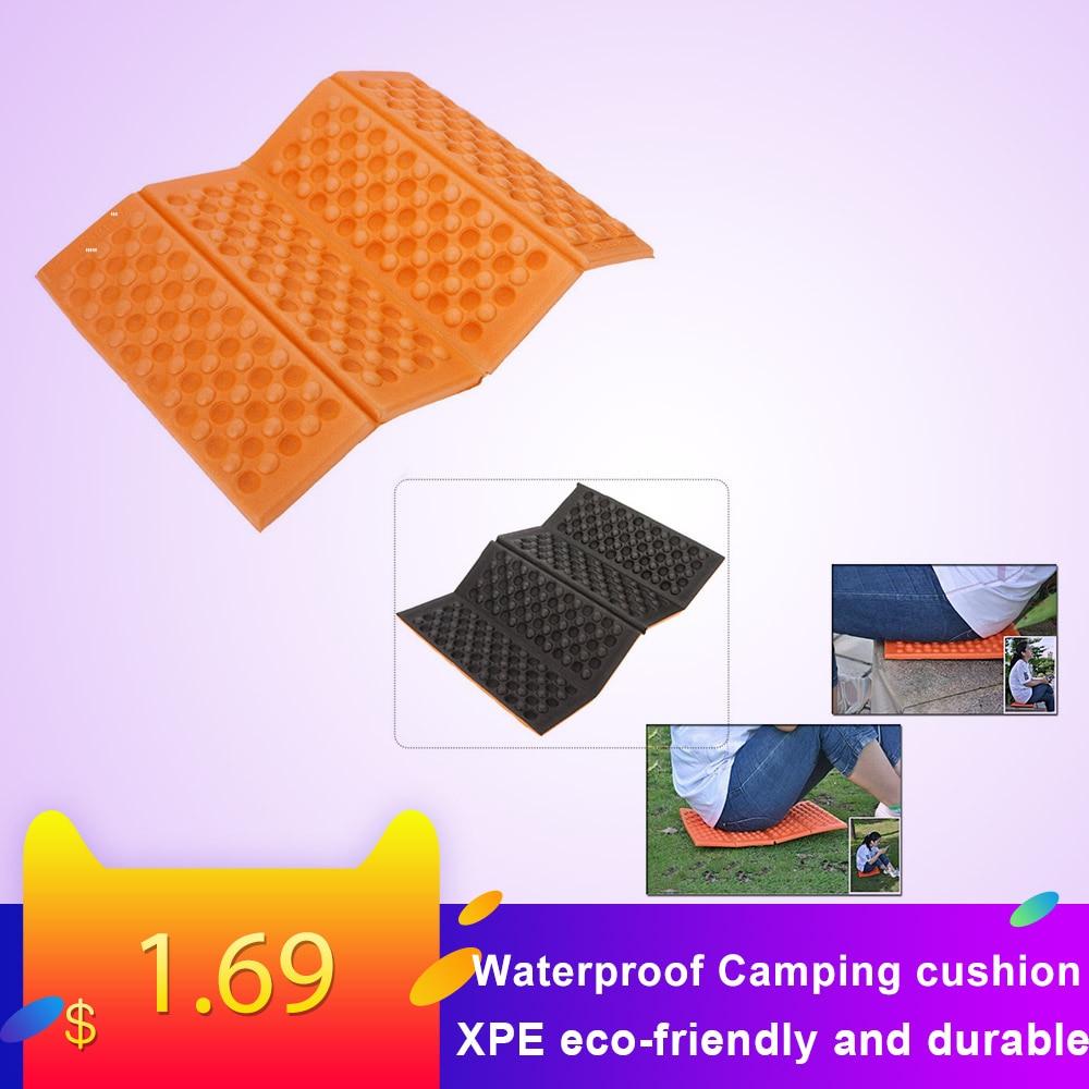 Foldable Folding Outdoor Camping Mat Seat Foam XPE Cushion Portable Waterproof Chair Picnic Mat Pad 5 Colors