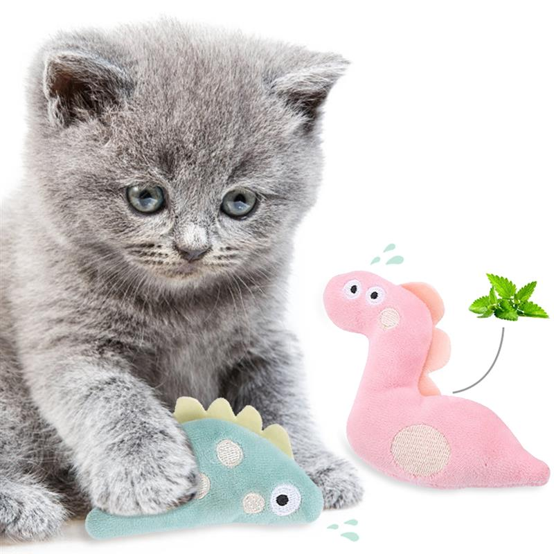 2 uds mascota suave de felpa en 3D forma de pez gato juguete interactivo regalos peces hierba gatera juguetes de peluche muñeca juguetes de juguete de La felpa de la felpa