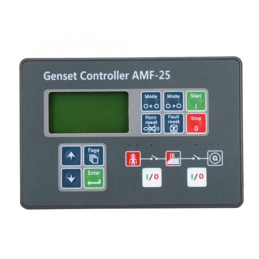 مولد أجزاء AMF-25 المولد تحكم الذاتي مراقبة البدء شاشة ل الديزل مولد DC 8-35V الكهربائية التلقائي تحكم