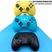 Sans fil Bluetooth Pro Contrôleur Manette Pour Nintend Commutateur Lite Console Gamepad Pour Nintend Contrôleur de Commutateur Joystic