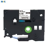 aive hse 231compatible brother hse heat shrink tube tape cartridge label printer black on white hse 211 hse 621 hse 241 hse 631
